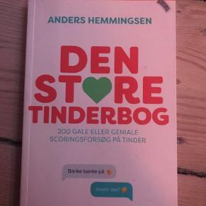 DEN STORE TINDERBOG AF ANDERS HEMMINGSEN ( har aldrig grint så meget af en bog... )