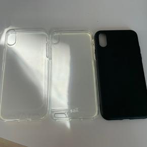 Covers til iPhone x og iPhone xs BYD, sælges billigt da jeg ikke får dem brugt (Coveret yderst til venstre er solgt!)