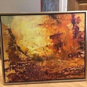 Maleri af Henrik krogsholm  86*65  - fast pris -køb 4 annoncer og den billigste er gratis - kan afhentes på Mimersgade 111 - sender gerne hvis du betaler Porto - mødes ikke andre steder - bytter ikke