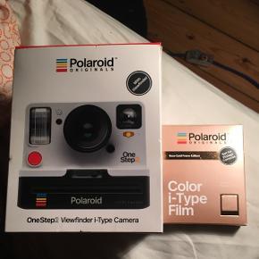 Polaroid onestep two - aldrig brugt eller taget ud af indpakningen. Sælges med 1 pakke film ☺️