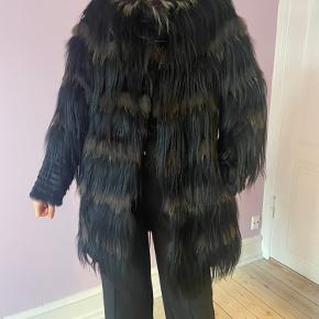 Onstage pels- & skindjakke