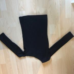 One-shoulder bluse fra h&m