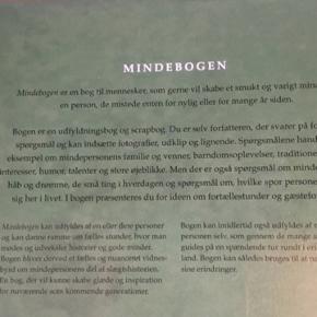 Mindebogen - fast pris -køb 4 annoncer og den billigste er gratis - kan afhentes på Mimersgade 111 - sender gerne hvis du betaler Porto - mødes ikke andre steder - bytter ikke
