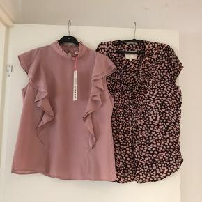 2 smukke skjorte toppe Rosa Sofie Schnoor - Ny købspris 699.- salg = 300.- Sort /rosa Lollys Laundry -som ny - købspris 499.- salg = 225.- Evt. Samlet = 450