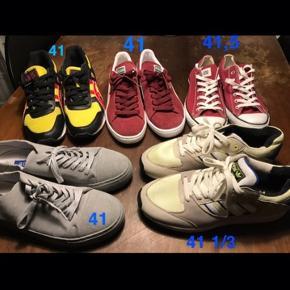 Puma suade Asics Adidas Converse Born // raised