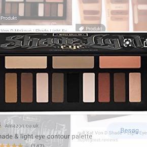 Kat Von d shade and light eye palette  Np ca 400 Ik brugt særligt meget, masser produkt tilbage