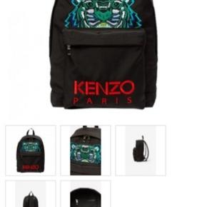 Helt ny Kenzo rygsæk - aldrig brugt. Kvittering, dustbag og tags haves!!
