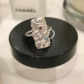 Sælger denne fine ring i en str. 52 🌺
