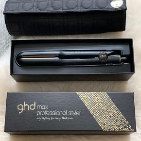 ghd Max professionel styler Nypris 1.599,-  ghd etui og varmemåtte Nypris 249,-  1, 1/2 års garanti tilbage