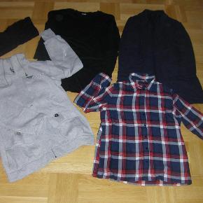 Brand: Forskellige mærker Varetype: Bluser Størrelse: L/XL Farve: Forskellige farver  Sælger disse skønne cardigans, bluser og skjorte til en samlet pris på 210,- De er gode men brugte. Sendes med GLS.