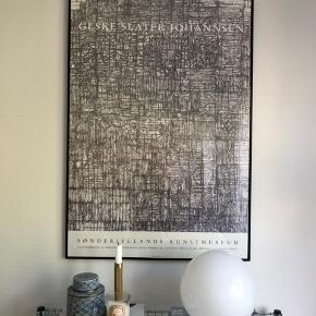Plakat i ramme. 70x100 cm.