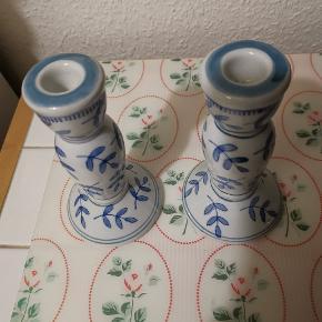 Fine lysestager sælges. 2 forskellige størrelser. Ses og købes i Kolding :) Byd!