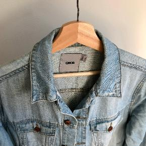 ASOS oversized (meaning just roomy) boyfriend jeans jacket.