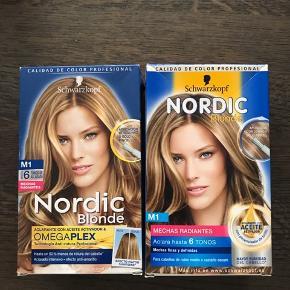 2 stk Nordic Blonde hårfarve til lyse striber. 6700/Rørkjær