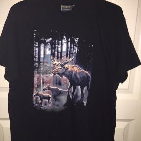 Str S Elg T-shirt købt i Sverige Skovens konge Skogstokig