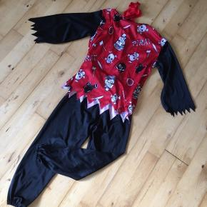 Pirat sørøver 3-5 år  Kostume udklædning halloween temafest Sender gerne