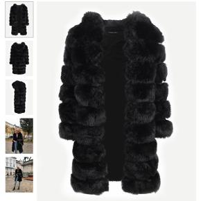 Helt ny faux fur/fake fur/kunstig pels frakke/jakke str Xl men svarer til en L. Aldrig brugt. Sælger kun fordi jeg ikke kan passe den grundet graviditet. Ingen useriøse bud tak ❤️