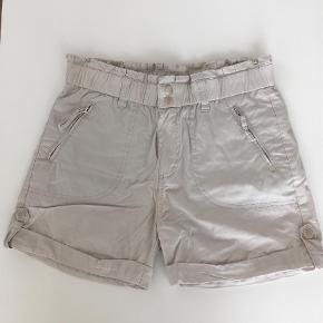 Varetype: Super Lækre og Bløde Shorts Størrelse: 34 Farve: Lys Grå Oprindelig købspris: 900 kr.   Super flotte shorts. Med mange fine detaljer. Til hverdag og fest. Brugt 2. Gange.