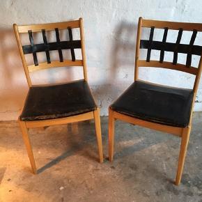 Spisebordstole 50kr stk