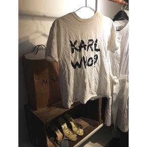 Fin trøje, Karl lagerfeld inspireret Fitter en s/m