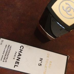Chanel no. 5 parfume.  Næsten ikke brugt Byd  50 ml flaske  Eau de toilette