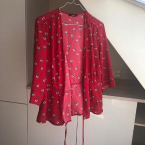 Mega fin binde bluse