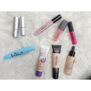 Blandet makeup