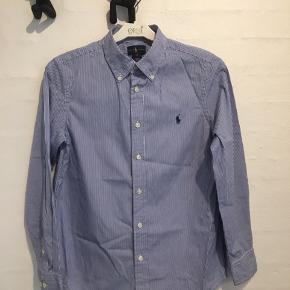 Flot mælkedrenge stribet drengeskjorte fra Ralph Lauren - vasket få gange - som ny