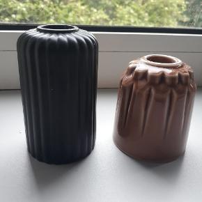Smukke lysestager fra mærket finnsdottir, 250 kr for begge to, og 130 kr stk
