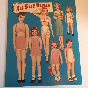 Påklædningsdukke bog