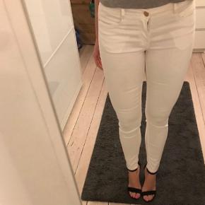 Super fine hvide Skinny denim jeans