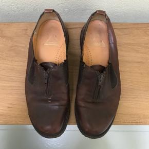 Vintage Angulus sko med lille hæl. Super komfortable