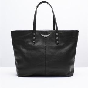 """Sælger denne """"Mick tote"""" taske fra Zadig & Voltaire. fin stand 💚"""