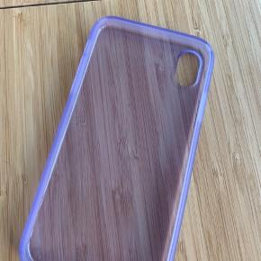 Brugt 1 gang Lækkert pastellilla cover, passer til iPhone XR