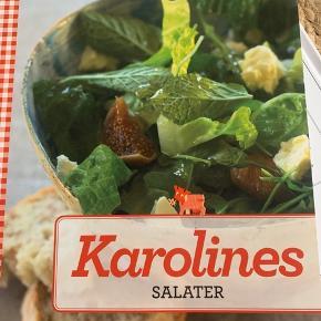 Karolines Salater Sælges samlet med den anden Karolines køkken bog for 50 kr