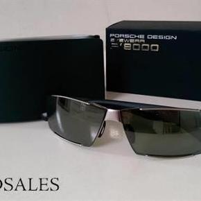 Varetype: Solbriller Størrelse: xx Farve: Koksgrå Oprindelig købspris: 2495 kr.  Helt nye solbriller, købt i Detroit, i Porsche butik.  I original æske og etui
