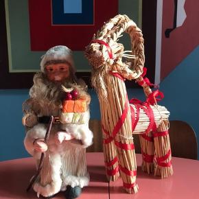 Julemand og rensdyr - sælges kun samlet  Har en del julepynt til salg - giver god mængderabat