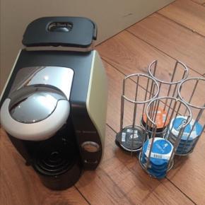 Kaffemaskine + stativ