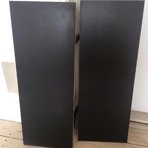 Hylder fra IKEA - modellen Ekby