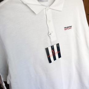 White polo shirt Valentino Sport.