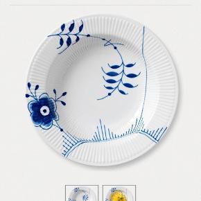 2x Royal Copenhagen pastatallerkener for 1000kr❤️