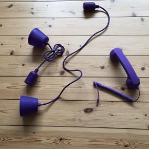 Lilla lampeledning aldrig brugt - kan bruges til elektriske pærer - kan sendes på købers regning - se også mine andre annoncer