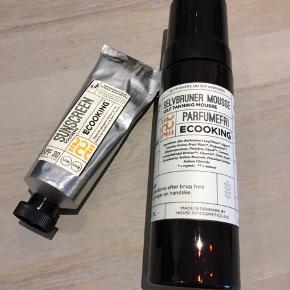 Ecooking selvbruner og solcreme - sælges samlet for 225 + fragt 😊  Begge uåbnede 😊