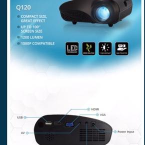 Sælger denne NYE projekter 300kr Lumeri Q120 projekter