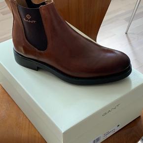 Gant Oscar støvler. Str 42. Cognac. Ikke brugt.