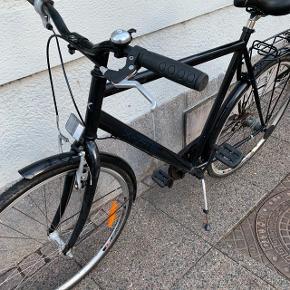 X-Site herrecykel. 3 gear. Velholdt.