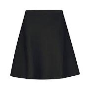 Fin nederdel fra Tiger of Sweden. Nederdelen har en A-form. Den har sølvglitrende inderside - se billeder. Så fin!