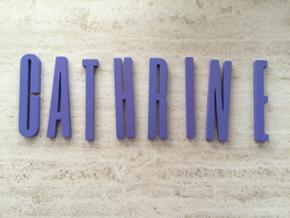 Design letters. Bogstaver i træ. 12 cm. Nypris 35 kr. stk. Sælges kun samlet.