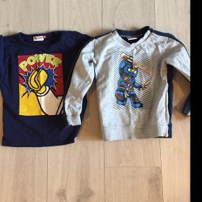 To stk. trøjer for 100 kr. , stadig i superfin stand, men desværre blevet for lille til min dreng.