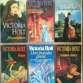 80 kr for alle 6 bøger på billedet. 📚